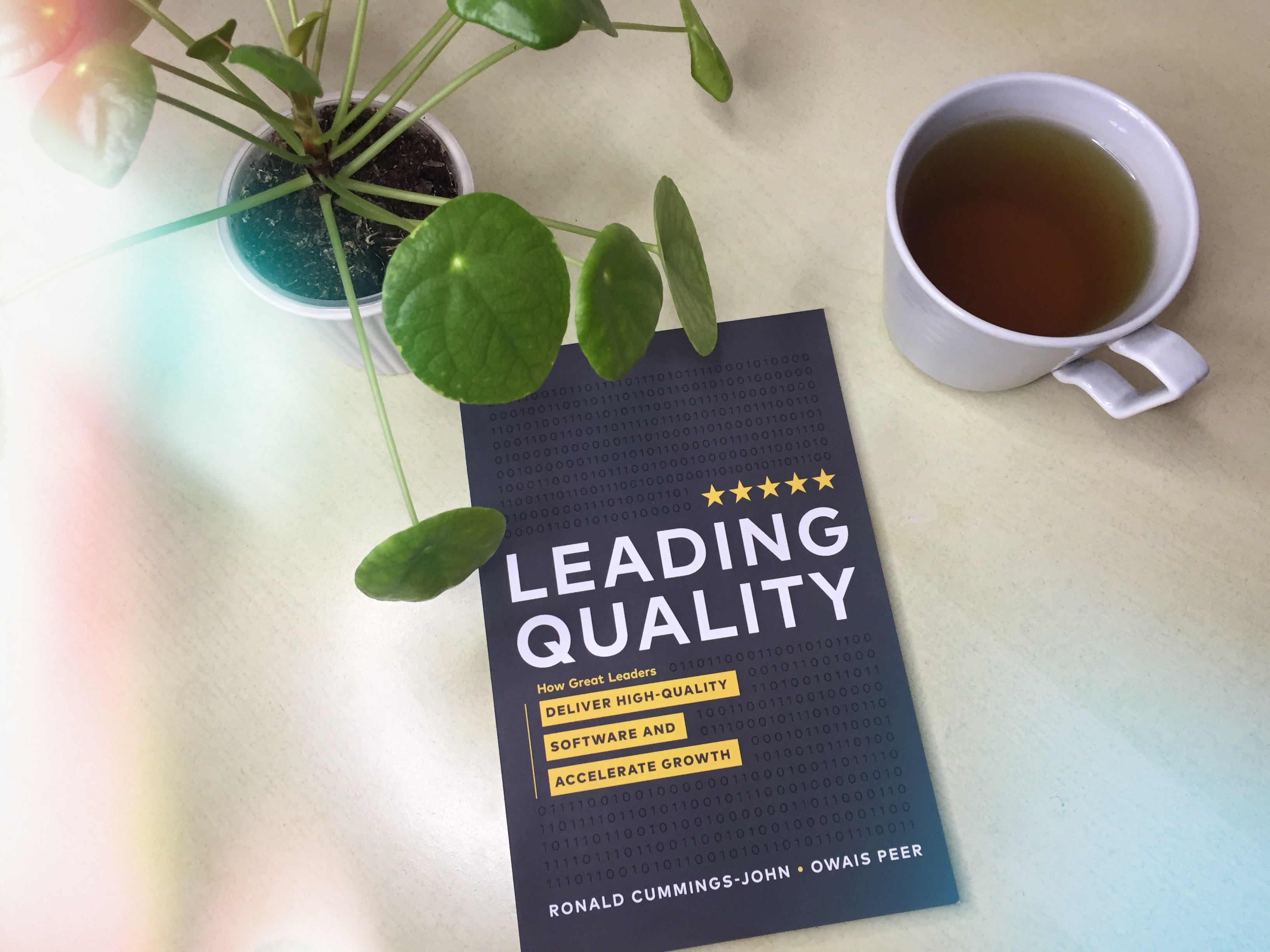 Leading Quality Book image